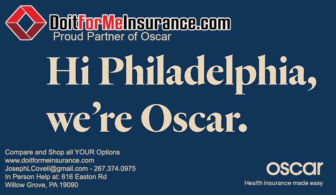 Oscar is Coming to All 5 Counties of Philadelphia for #OpenEnrollment 2020!